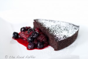 Black bean chocolate cake