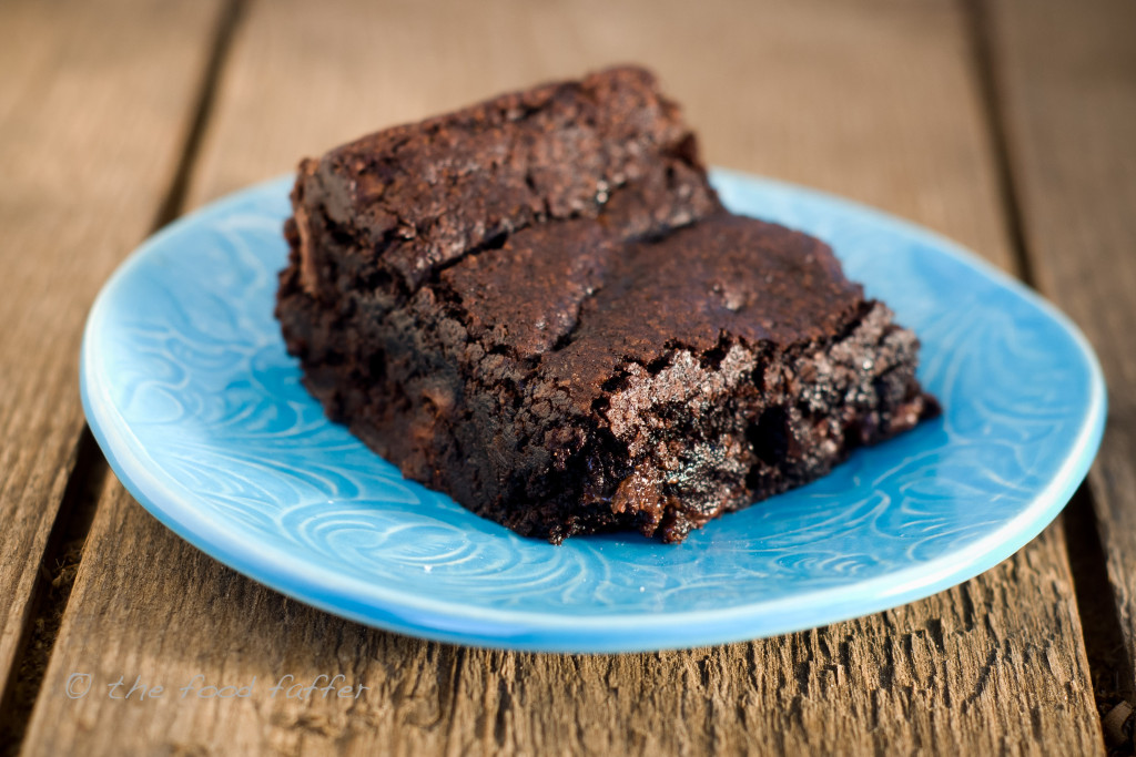 vegan brownie 4